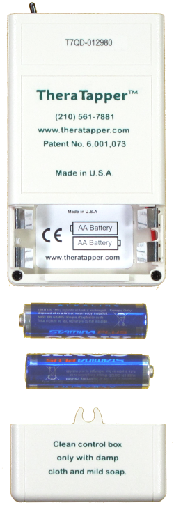 TheraTapper Batteries